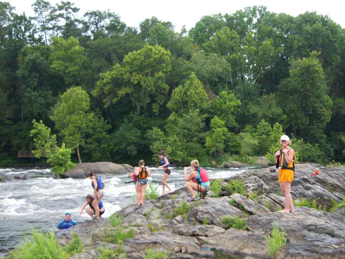 White water rafting in alabama